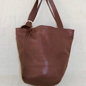 COACH XL Leather Vintage Soho shoulder handbag USA